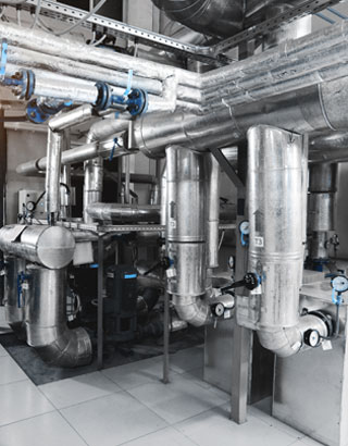 DI water reduces wear and tear on boiler water systems